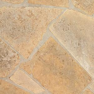 Cream Sawed patio stone
