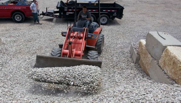 Bulk gravel and landscape materials