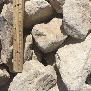 Crushed Limestone 3-5 inches