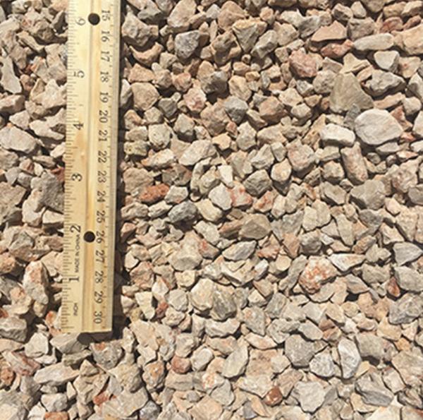 Crushed Limestone Half Inch Minus