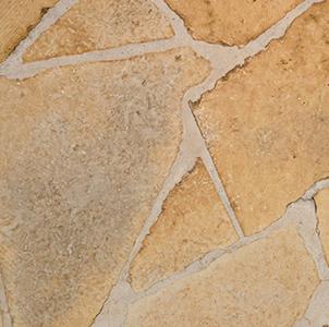 White Sawed Patio Stone