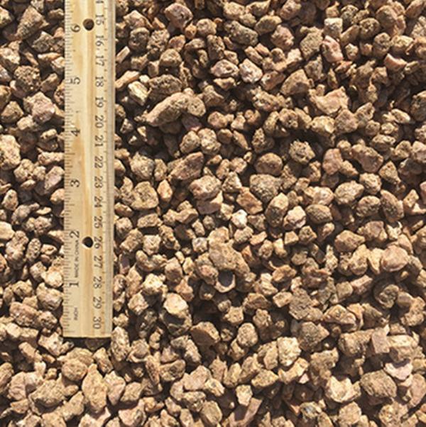 Fairland Pink Gravel quarter inch to half inch