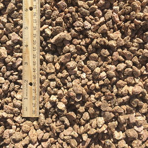 Fairland Pink Gravel quarter inch to half inch