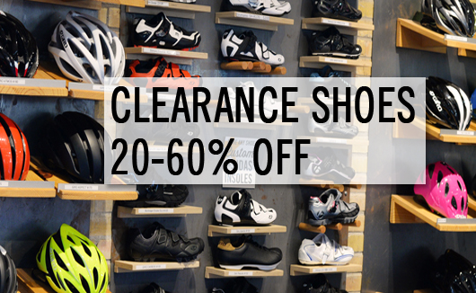 Clearance shoes 20-60% off
