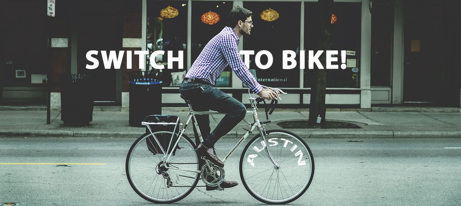 Reasons Why you should switch to a bike!