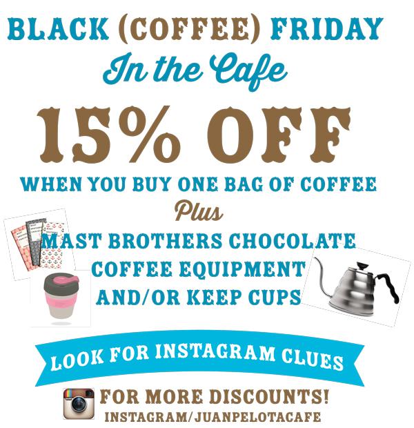 Juan Pelota Cafe Sale