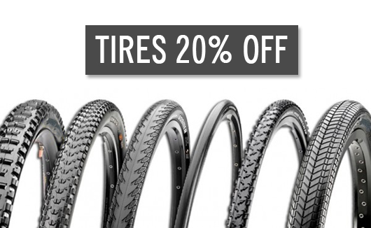 Tires 20% off