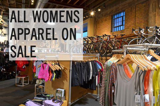 Women's apparel on sale