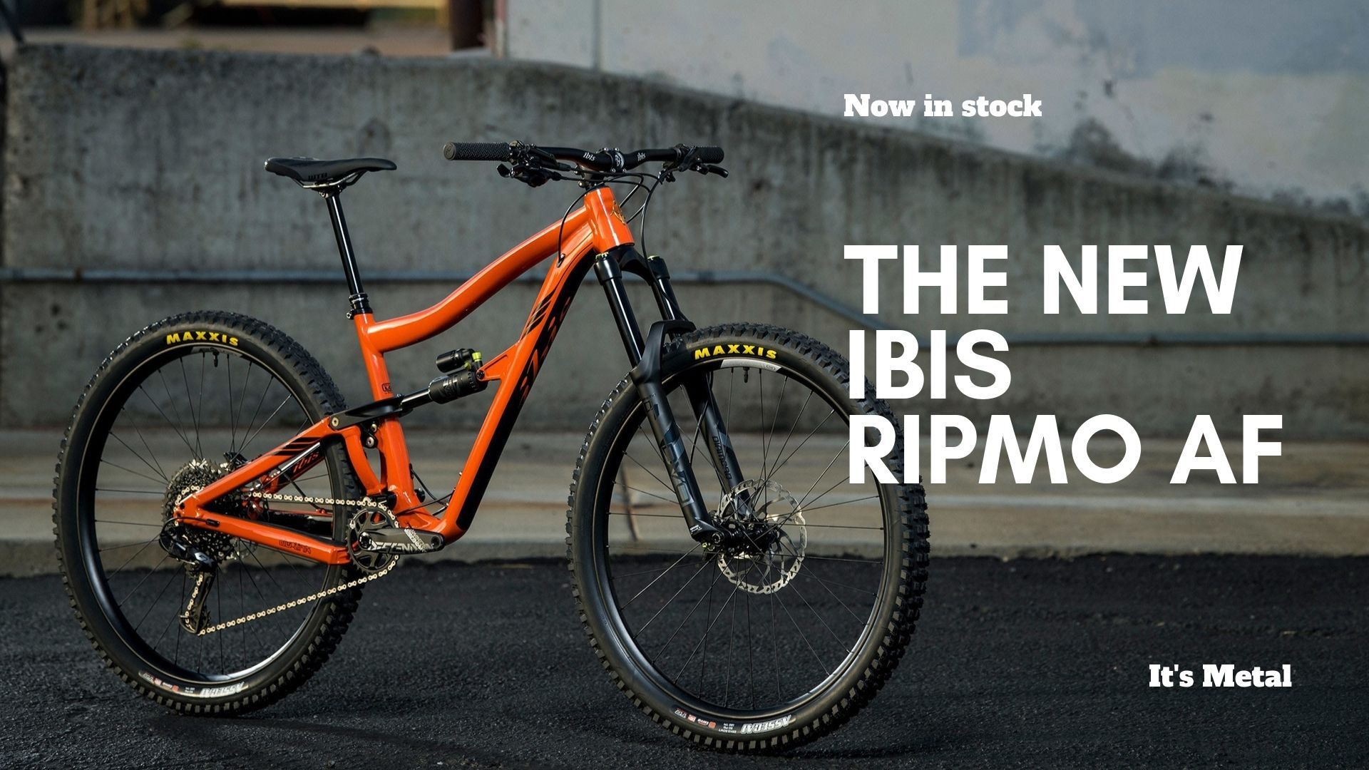 The New Ibis Ripmo AF