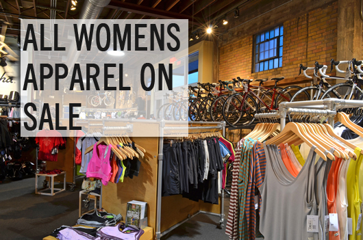 Women's apparel on sale