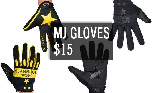 MJ gloves $15
