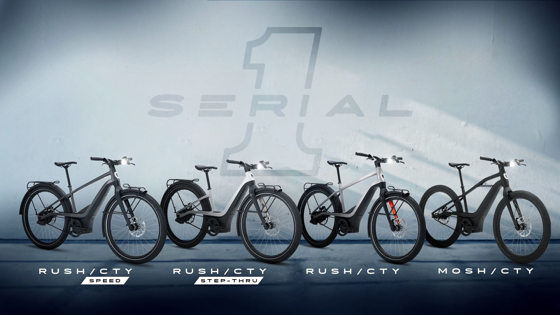 New To The Shop: Serial 1 Ebikes
