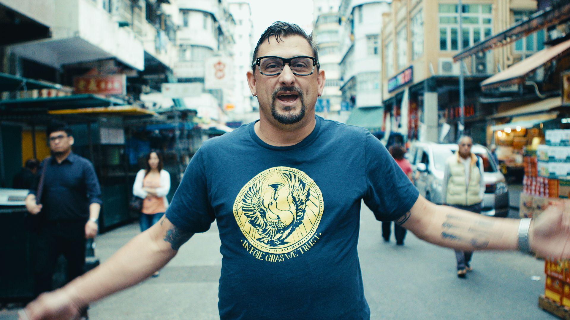 FOOD & WINE MAGAZINE - CHEF CHRIS COSENTINO IN HONG KONG