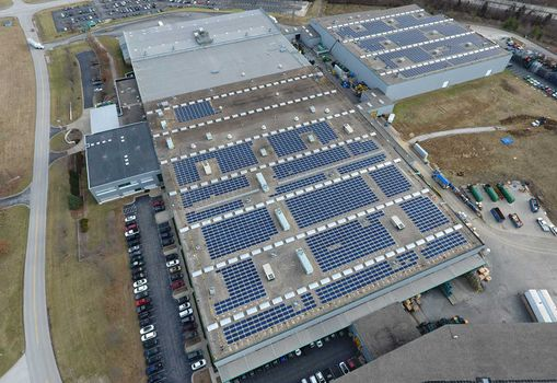 Commercial Building Solar Panels in Kentucky