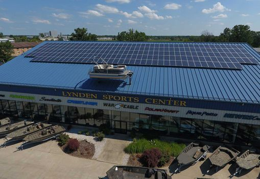 Minnesota Commercial Building Solar Panels