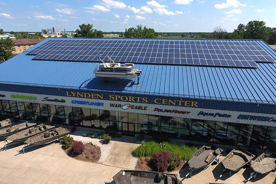 Midwest Commercial Solar Panel Installation