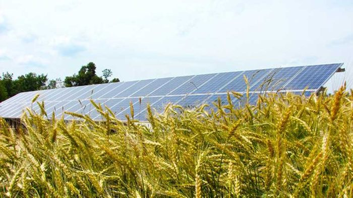 Midwest Agricultural Solar Panels for Farm Land