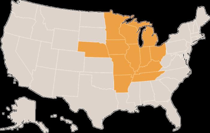 Residential Solar Panels - Indiana, Illinois, Ohio, Kentucky, Tennessee, Michigan, Wisconsin, Minnesota, Nebraska, Iowa, Missouri, Arkansas