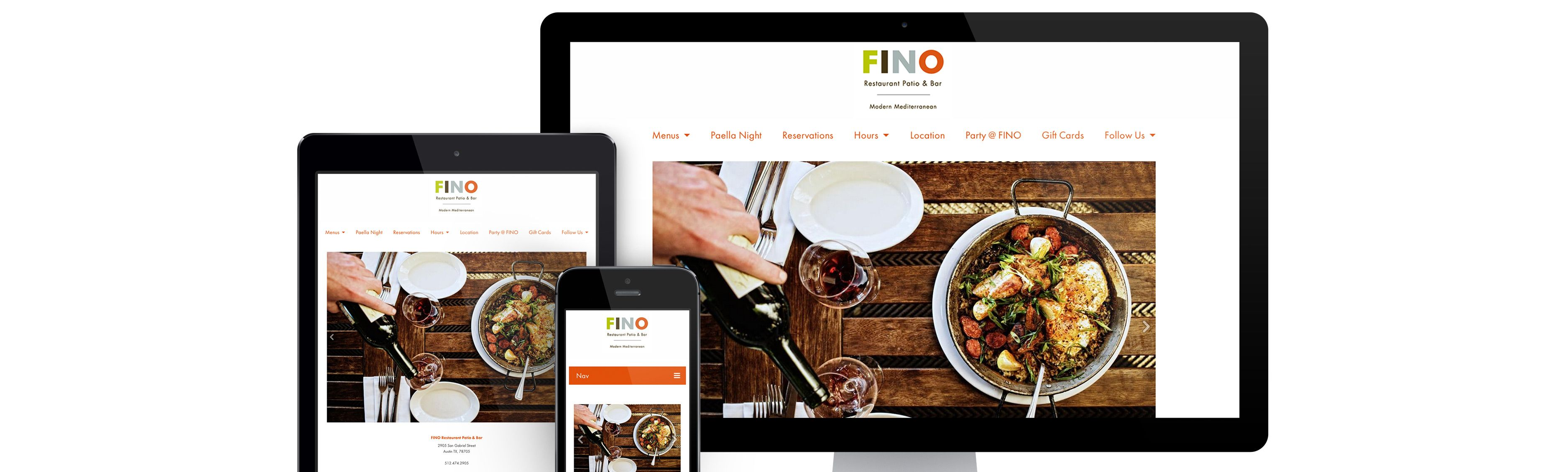 Restaurant Websites on All Devices