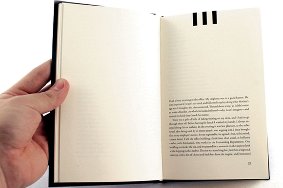 Book Typography Example