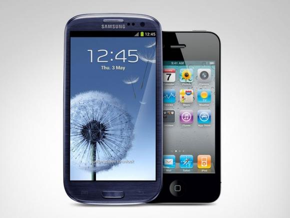 Samsung Galaxy SIII vs iPhone 4s