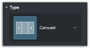 Carousel Slideshow Layout