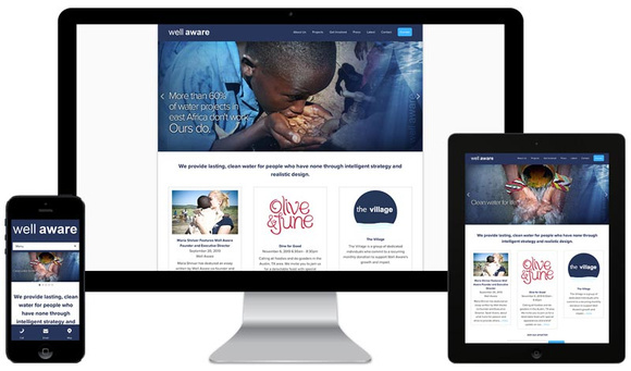 Wellaware Website on Multiple Devices