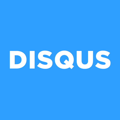 Logo for Disqus, a commenting platform with an integration with SpaceCraft