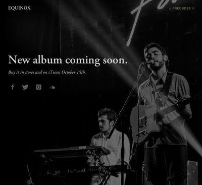 Website Template Equinox