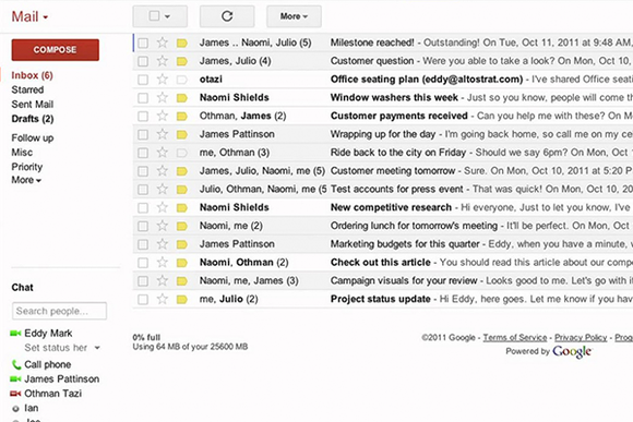 Email Typography Example