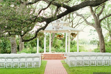 Texas Outdoor Garden Wedding