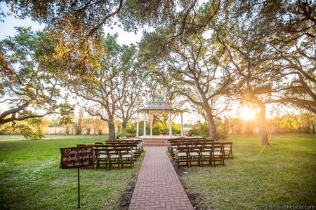 Texas Hill Country Outdoor Wedding Location