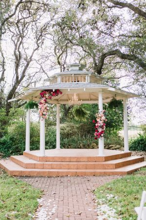 Outdoor Garden Wedding Gazebo Texas
