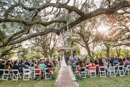 Texas Garden Wedding Location