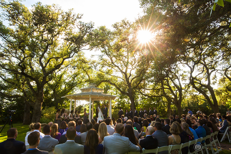 Outdoor Wedding Ceremony Venue in Central Texas