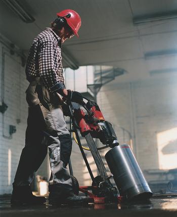 Vertical Concrete Core Drilling - ABC Concrete Cutting Company