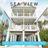 sea view - surfside realty vacation rentals - surfside beach, sc