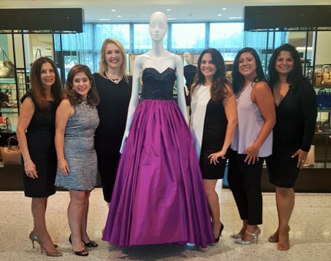Ellevate Houston Board Luanne Jones, Mathilde Leary, Jennifer Roosth, Jessica Nicolayevsky, Bianca Ferrer, Mariam Jacob, and Trihn Abrell (not pictured).png