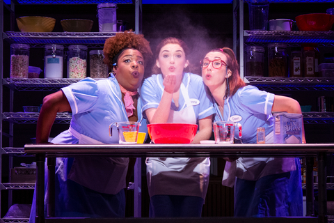 Maiesha McQueen, Christine Dwyer and Jessie Shelton in the Tour of Waitress Credit Philicia Endelman DSC_1295.jpg