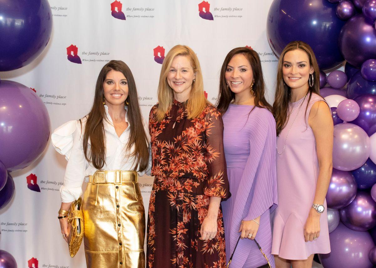 Marjon Henderson, Laura Linney, Samantha Wortley and Marisa Howard.JPG