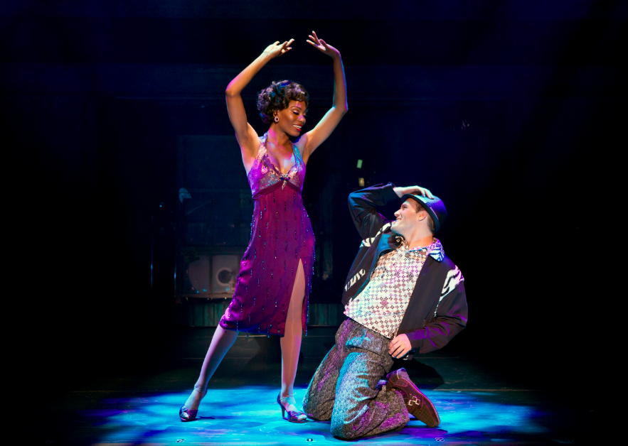 """"""" in the National Touring Cast of MEMPHIS.  Photo by  Jeremy Daniel.png"""