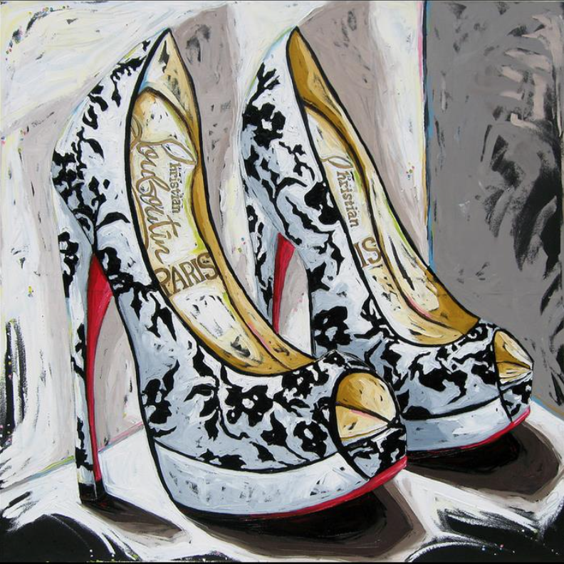 Julia Gilmore, Louboutin Shoes, courtesy of the artist.png