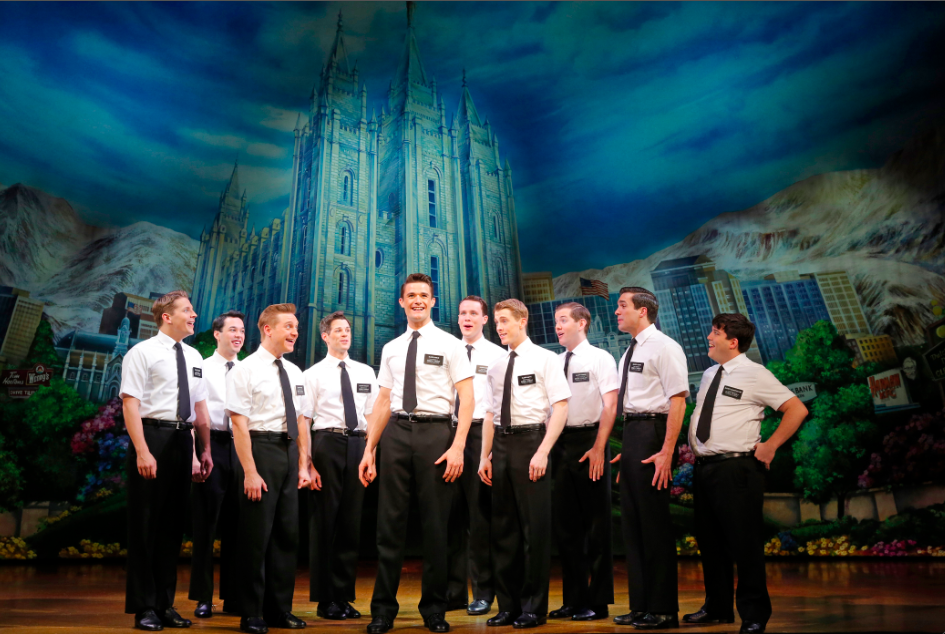 THE BOOK OF MORMON First National Tour Company, THE BOOK OF MORMON First National Tour © Joan Marcus 2013.png