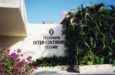 cozumel intercontinental hotel ext sign.jpg