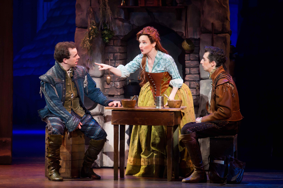 Something Rotten's Rob McClure, Maggie Lakis and Josh Grisetti. © Jeremy Daniel.jpg