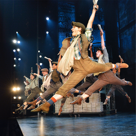 Original company, North American Tour of Disney's NEWSIES. ©Disney. Photo by Deen van Meer.png