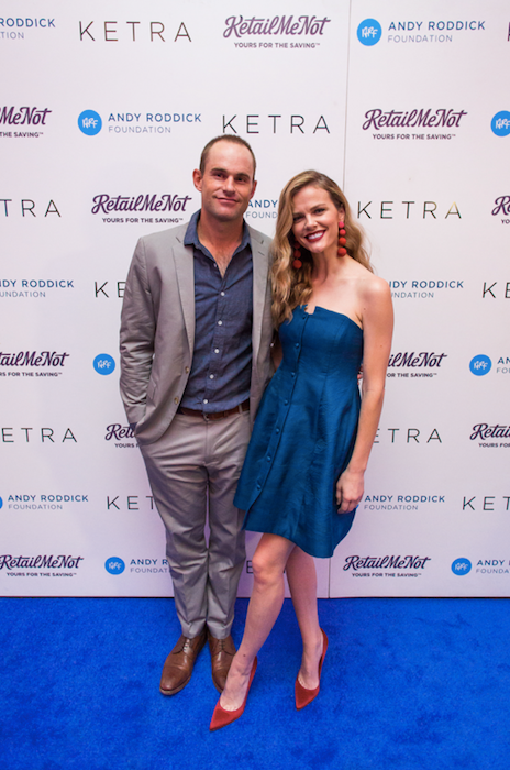 Andy Roddick and Brooklyn Decker, 2016 ARF gala .png