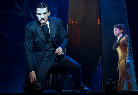 Gardar Thor Cortes and Meghan Picerno star in Love Never Dies. Photo by Joan Marcus.png