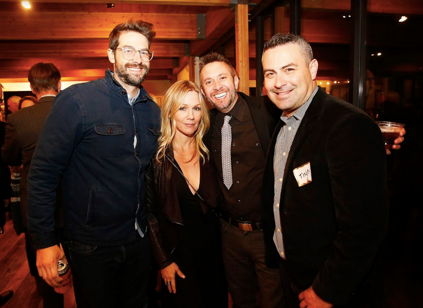 Davey Abrams, Jennie Garth, Ben Baronet and Augustino Chavez.png