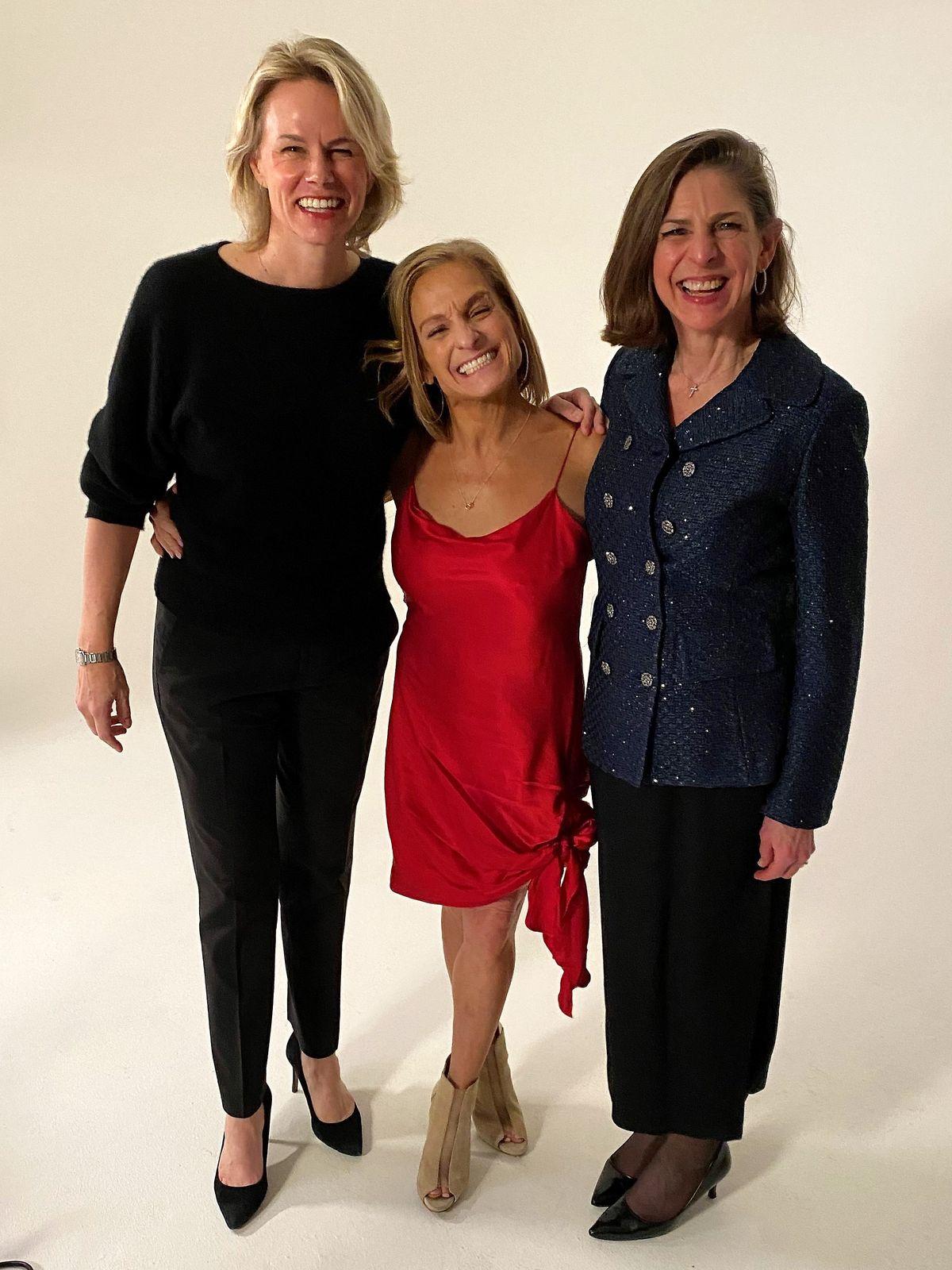 Molly Fletcher, Mary Lou Retton and Diane Paddison. Photo courtesy of 4word.jpg